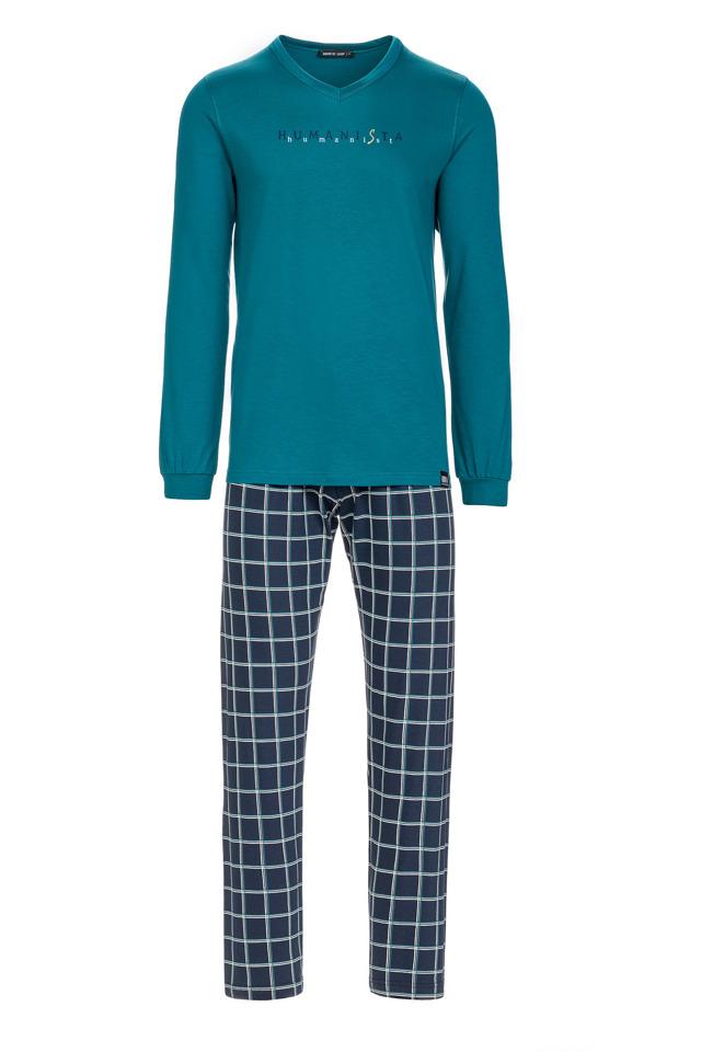 Vamp - Pánské pohodlné pyžamo 13625 - Vamp - 3xl