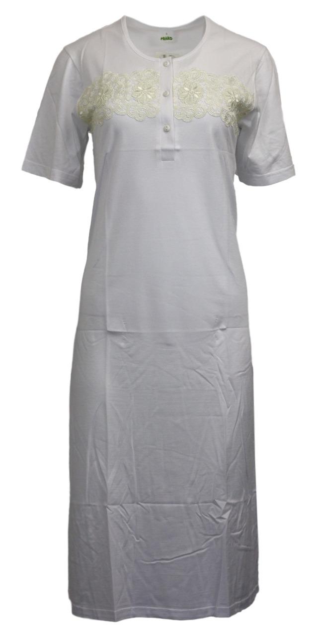 Dámská noční košile F1032 - Prako - L - bílá