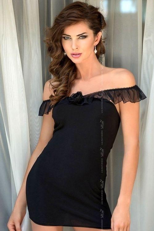 Dámská košilka Adeline black