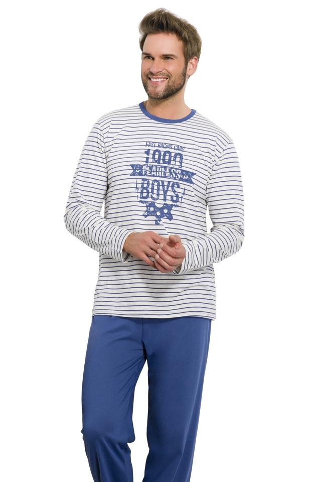 Pánské pyžamo Max modré