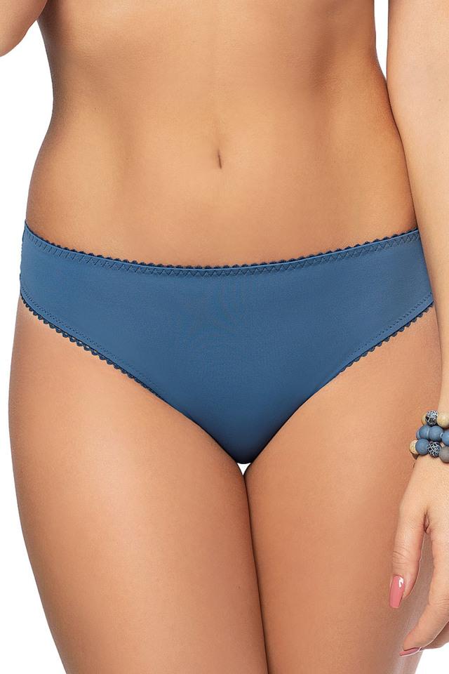 Dámské kalhotky brazilky Gorsenia K489 Blue Tatoo - XL - modrá