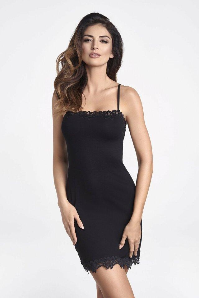 Dámská košilka Sisi black - XL - černá