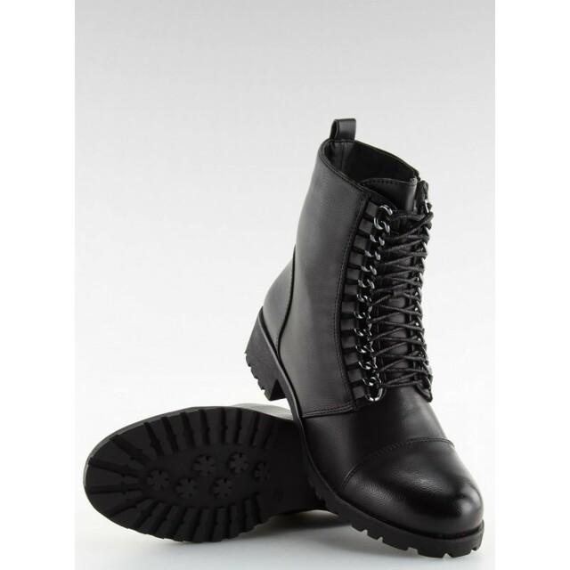 Dámské boty Workery A89626 - Andarina - 37 - černá