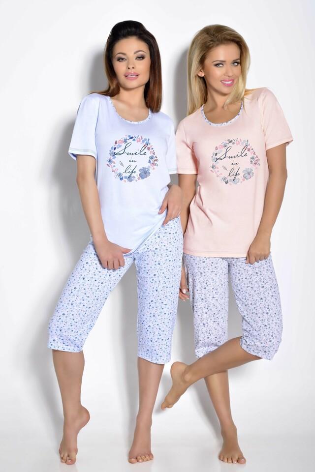 Dámské pyžamo Magda světle modré