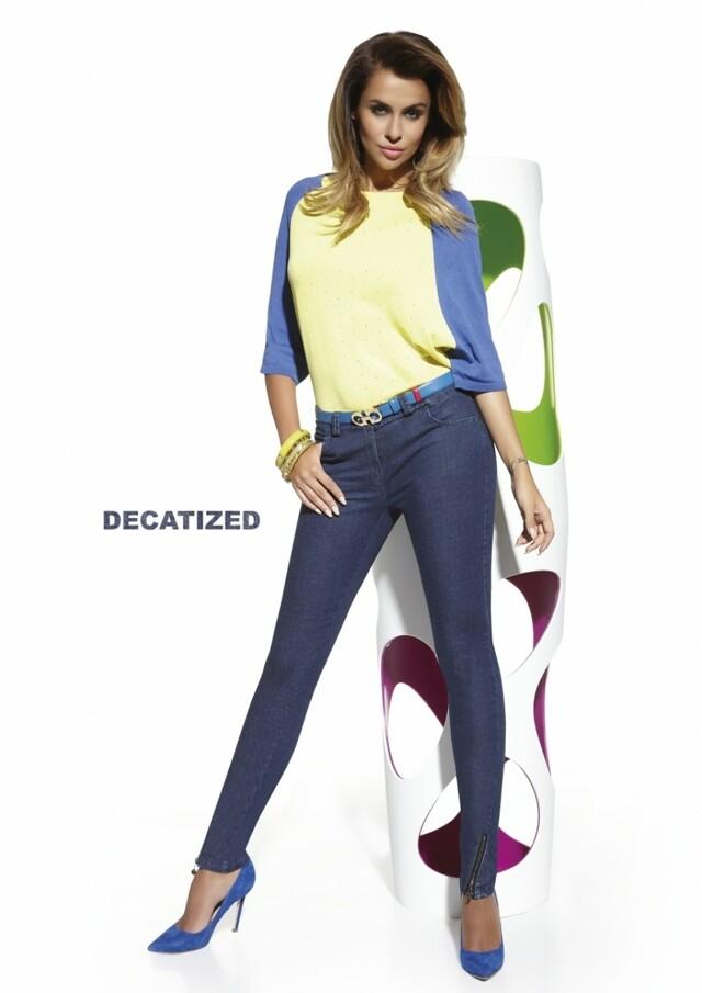 Dámské kalhoty Natalie - L - jeans