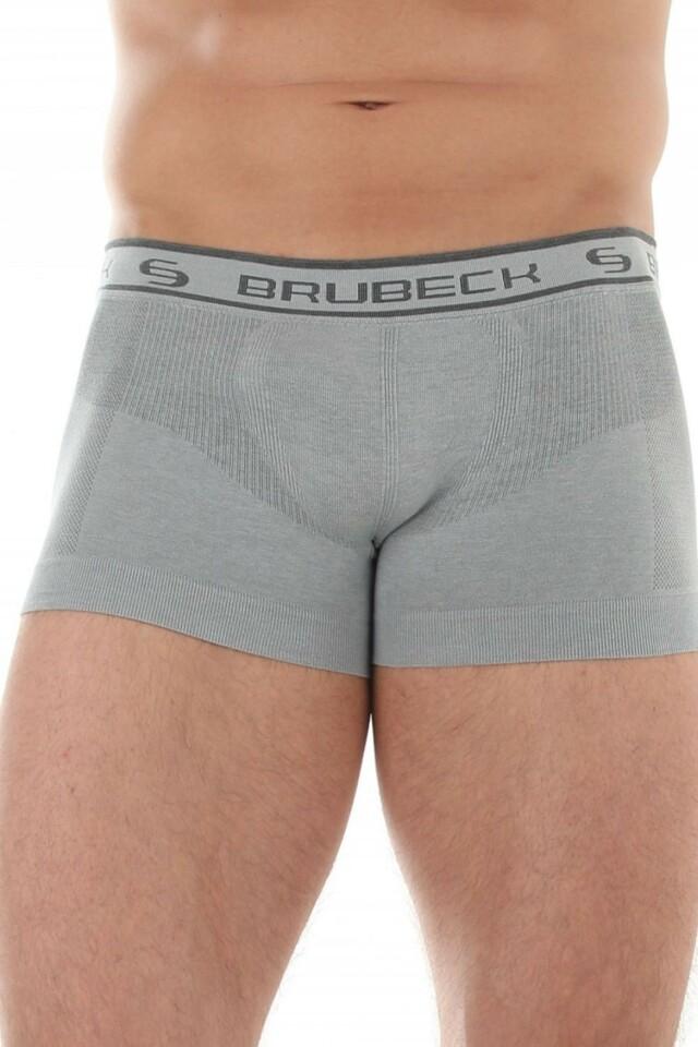 Pánské boxerky BX 10050 grey - XXL - šedá