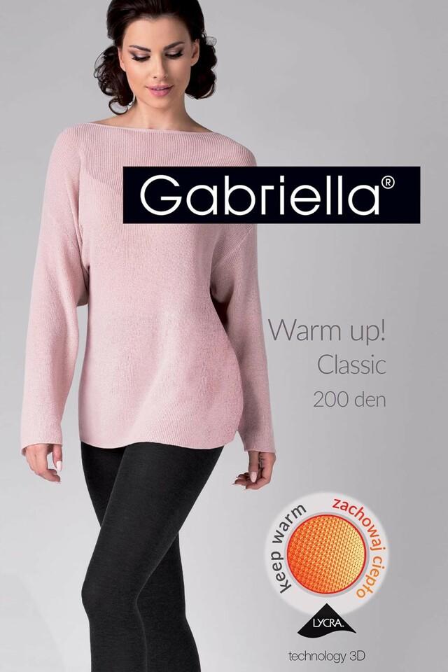 Punčochové kalhoty Gabriella Warm up! Classic 200 Den code 409
