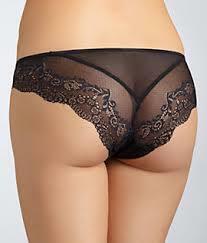 Dámské kalhotky 543174 - DKNY - M - černá