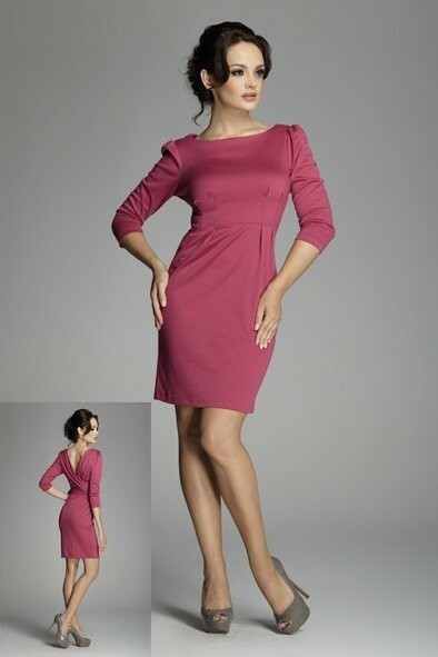 Dámské šaty 82 - Figl - 42 - fuchsia