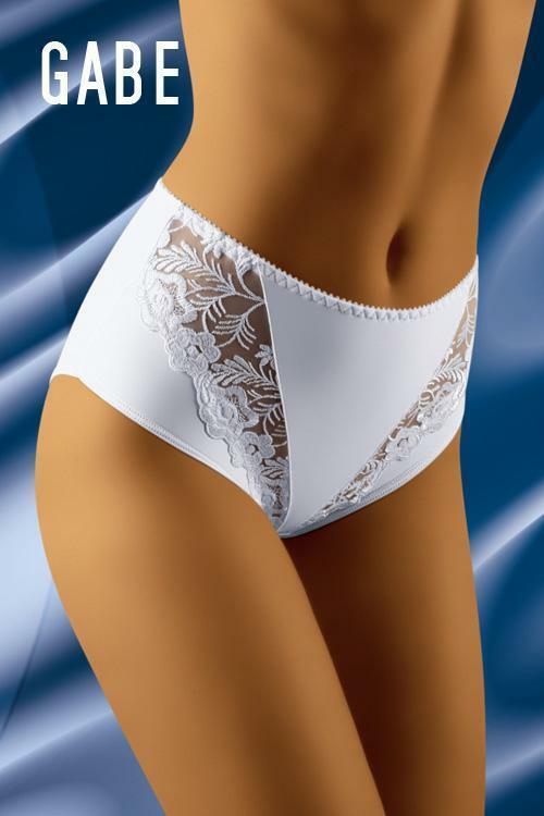 Dámské kalhotky Gabe white - XXL - bílá