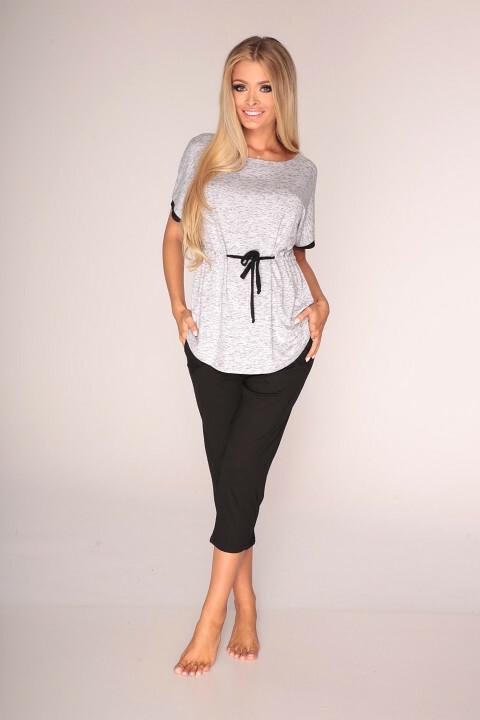 Pyžamo De Lafense 310 Jacqueline kr/r S-2XL
