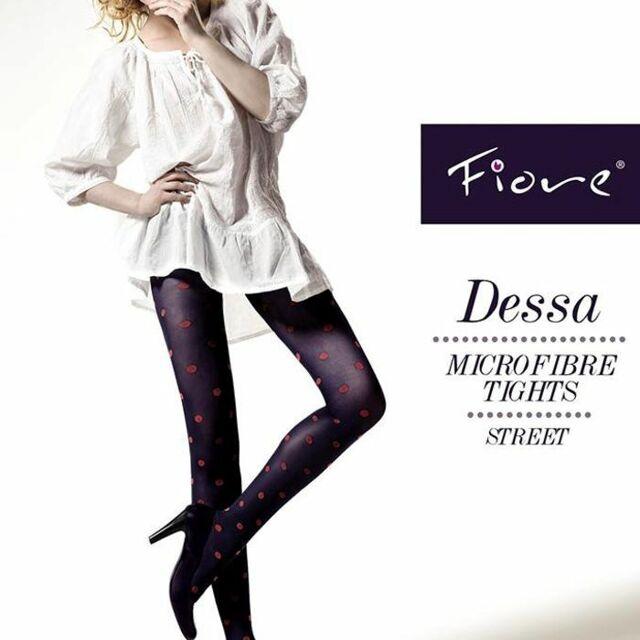 Punčochové kalhoty Fiore Dessa 40 den - Fiore - 4-L - černá