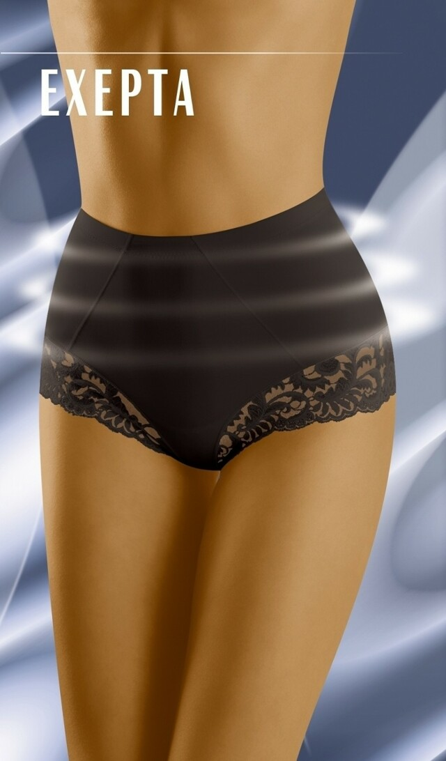 Stahovací kalhotky Exepta black - L - černá