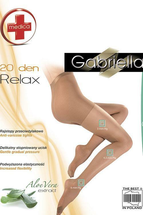 e44a19af9966 Punčochové kalhoty Gabriella Medica Relax 20 DEN Code 110