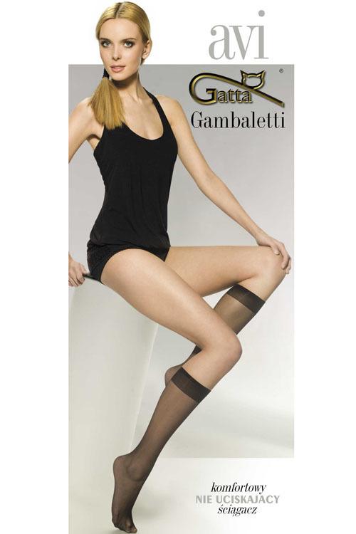 Podkolenky Gambaletti Avi Classic - Gatta - uni - beige