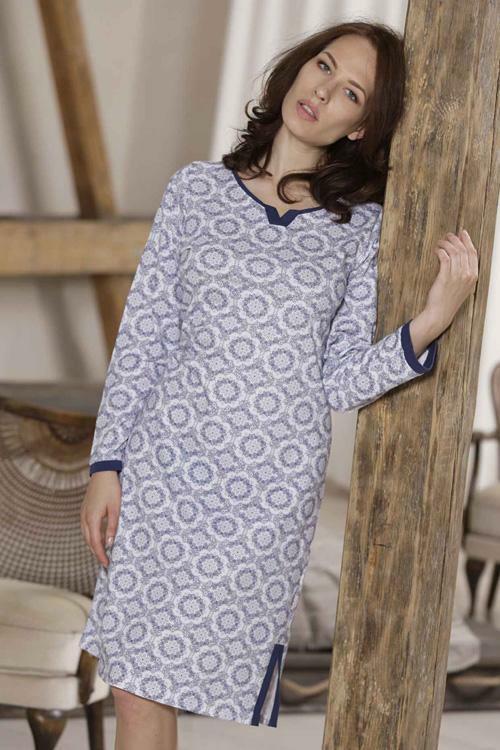 Noční košilka Cana 676 - L - bílá
