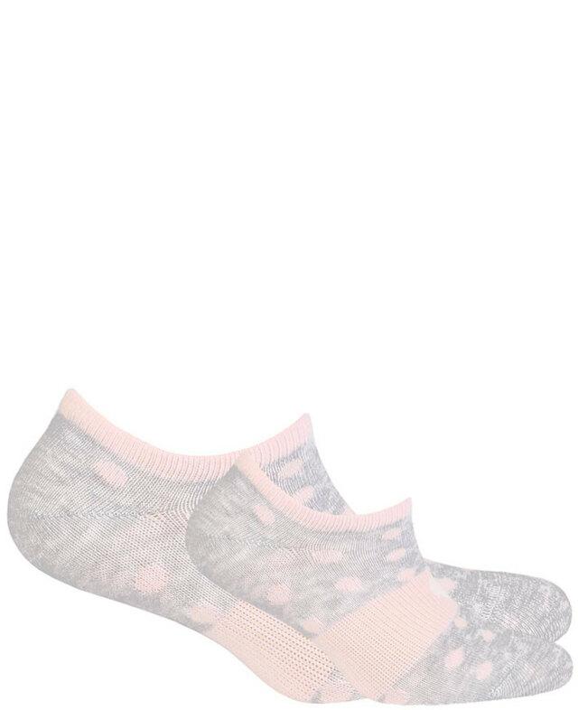 Dámské vzorované kotníkové ponožky - námořnická - 33/35