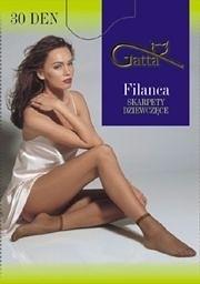 Dámské ponožky Gatta Filanca - univerzální - odstín hnědé