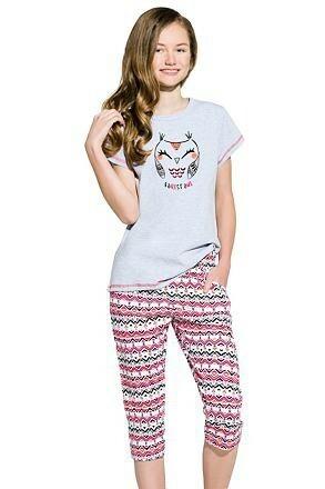 Dívčí pyžamo Reb sovička