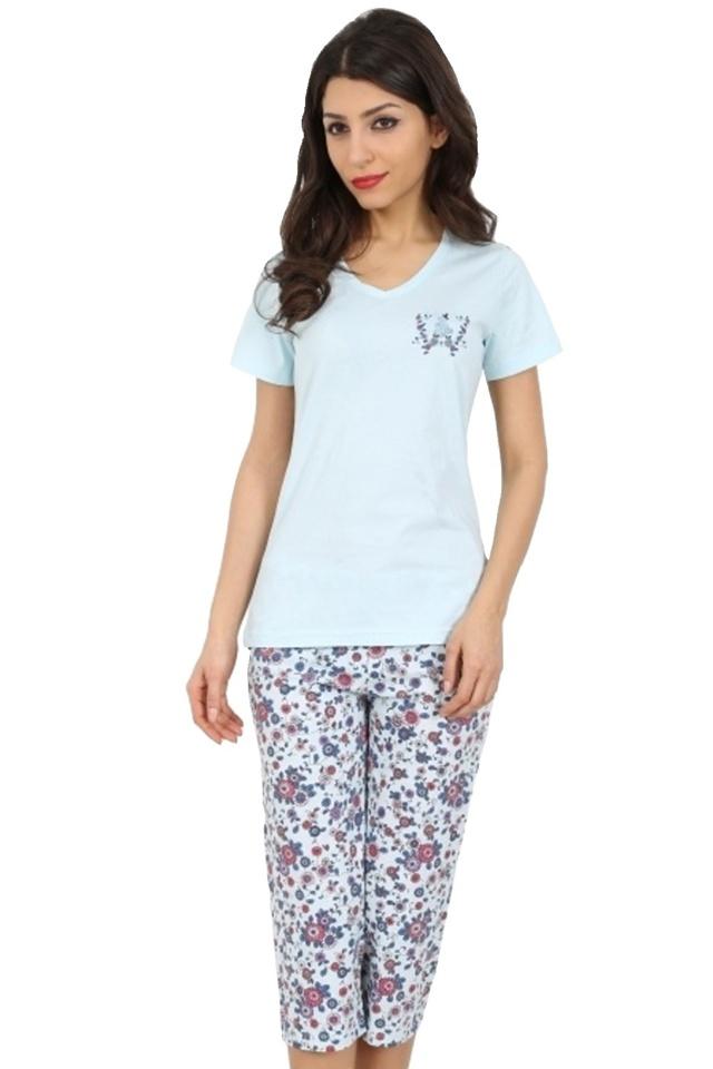 Bavlněné dámské pyžamo Iris - M
