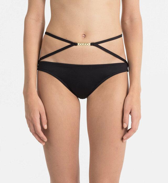Spodní díl plavek KW0KW00325-001 černá - Calvin Klein