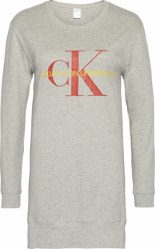 Dámské triko na spaní QS6152E-020 šedá - Calvin Klein - S - šedá