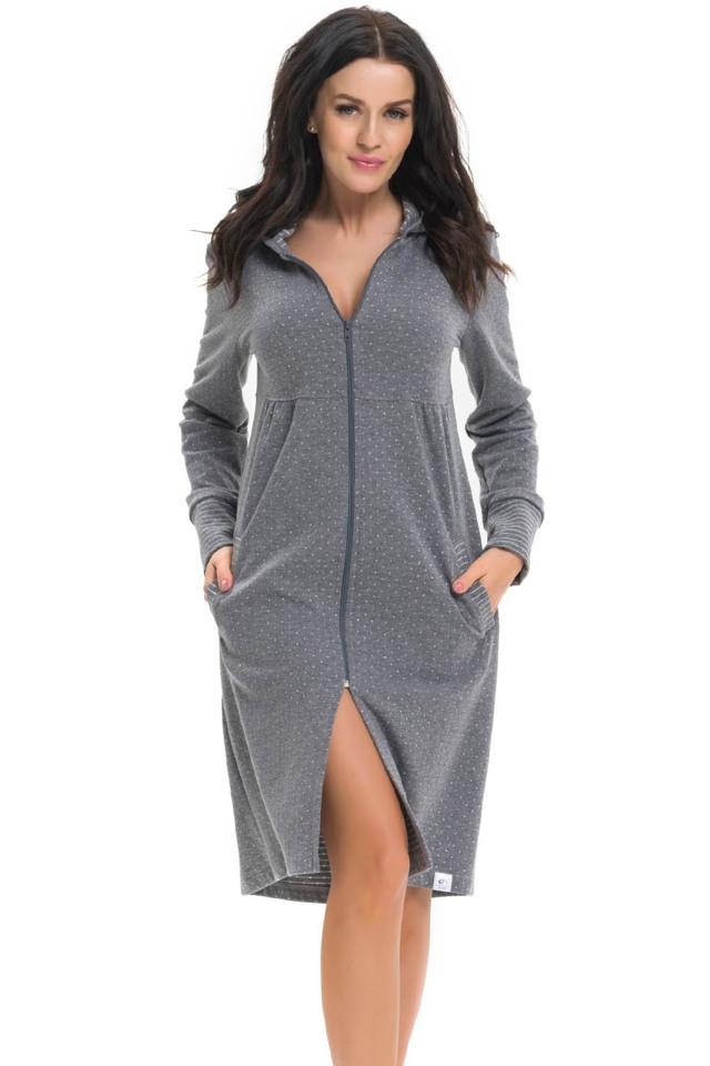 Dámský župan Dn-nightwear SCL.9270