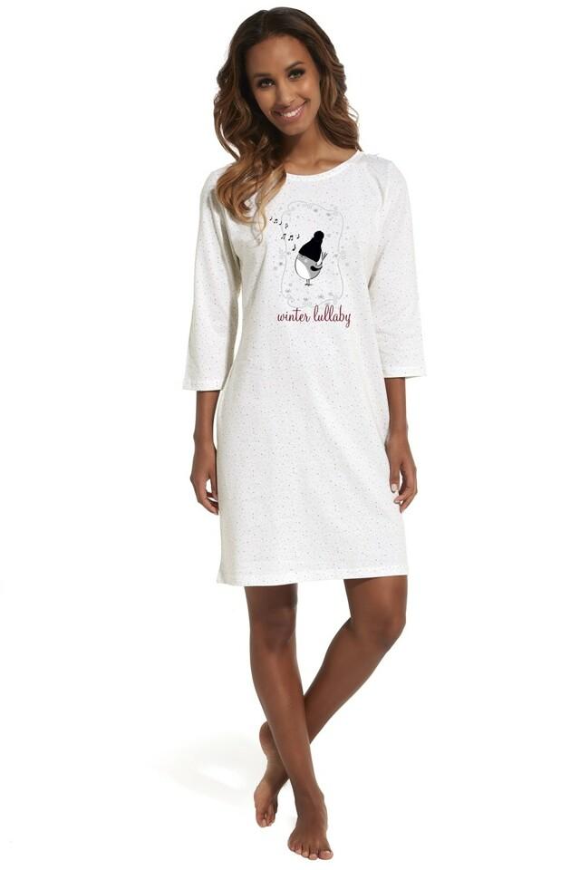 Noční košile 641/155 Lullaby 3 - XL - krémová