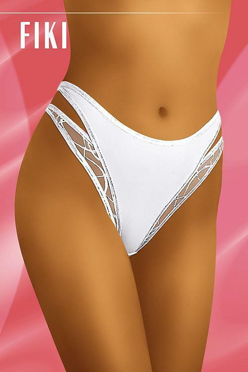 Dámské kalhotky Fiki white - XL - bílá