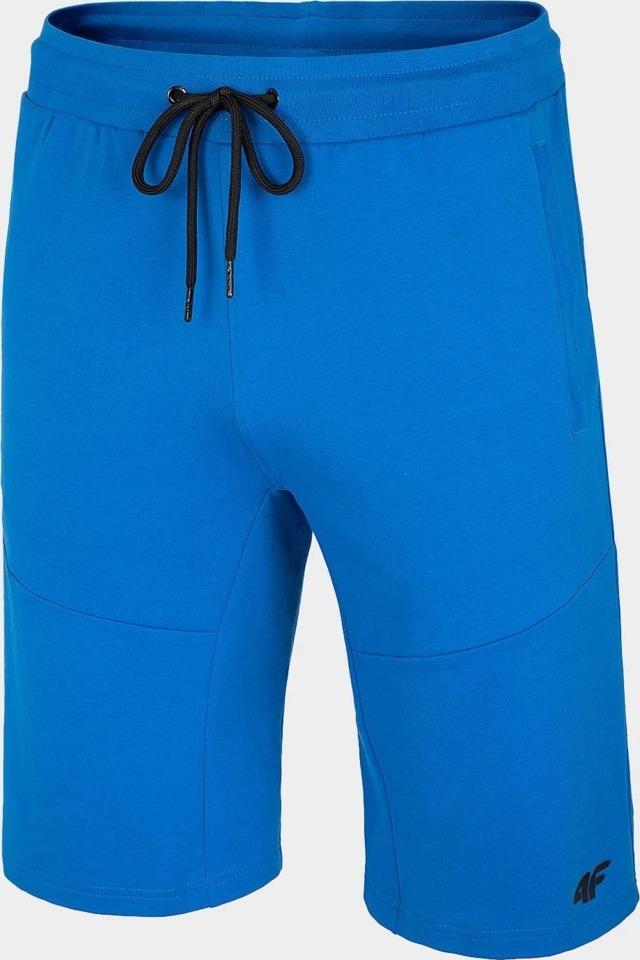 Pánské teplákové kraťasy 4F SKMD010 Modré - L - mo