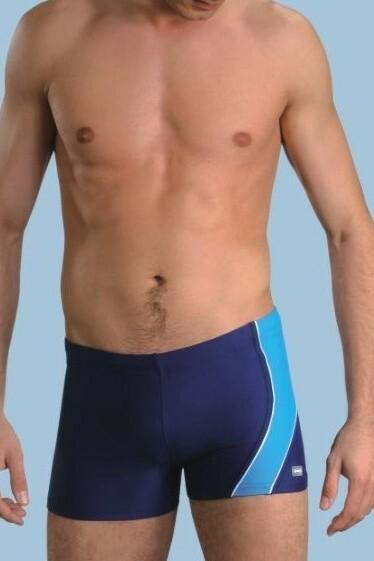 Pánské boxerkové plavky Michael2 modré - M