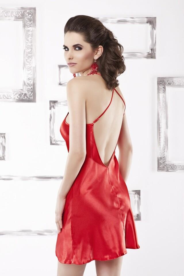 Dámská košilka Anna red - XL - červená