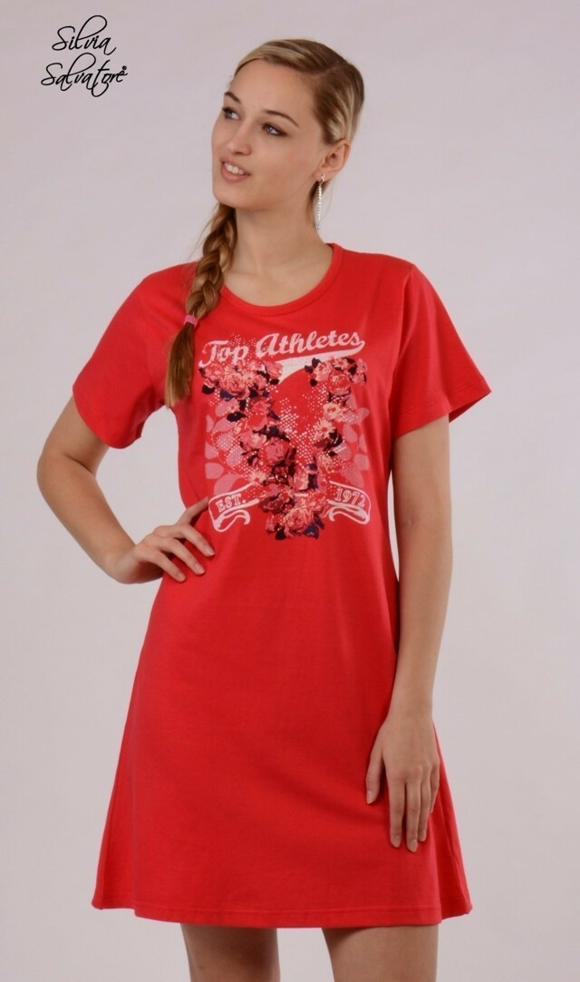 Dámská noční košile s krátkým rukávem Vendy