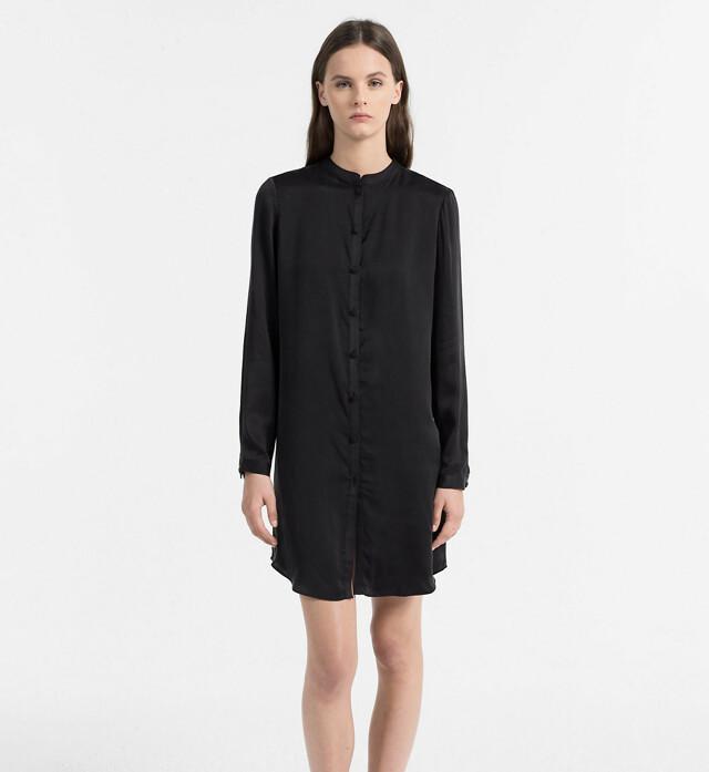 Dámská košile QS5794E - Calvin Klein - S - černá