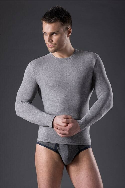 Pánské triko Longsleeve Men's Cotton - Envie