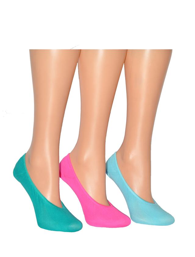 Dámské nízké ponožky Meer 10784 Bambus - 35-38 - bílá