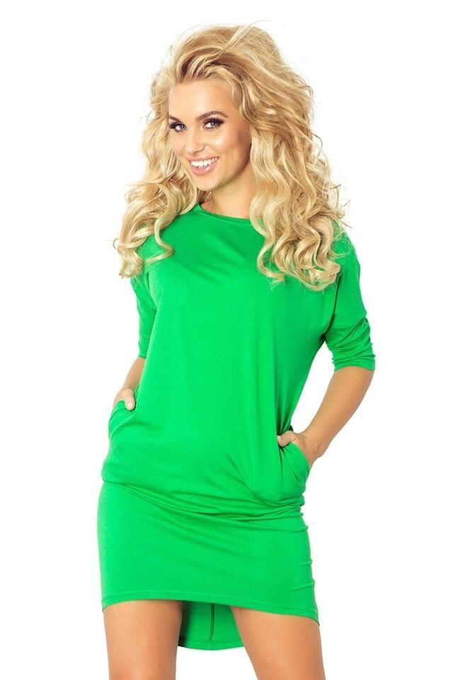 64-1 Zelené košilové šaty Mirela - L