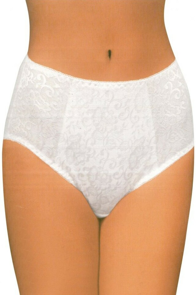 Dámské kalhotky 195 white - M - bílá