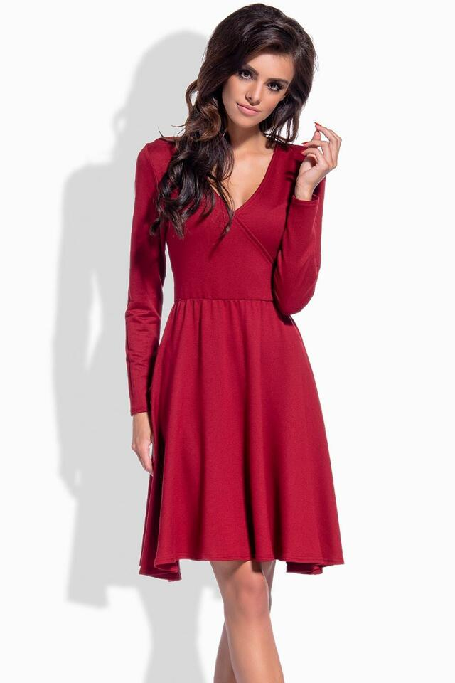 Dámské šaty Lemoniade L154 - L - červená