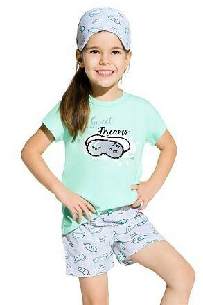 Dívčí pyžamo Hanička tyrkysové