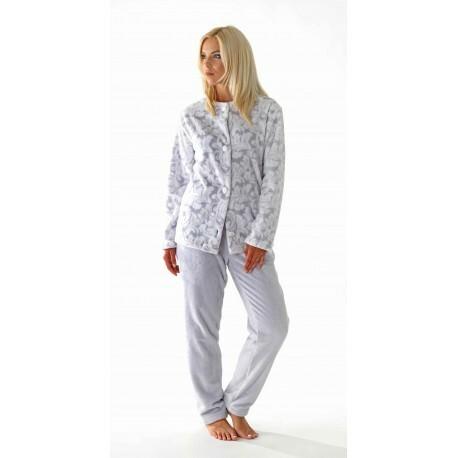 Dámský kabátek Flora 63569102 - Vestis - XL - šedo-bílá