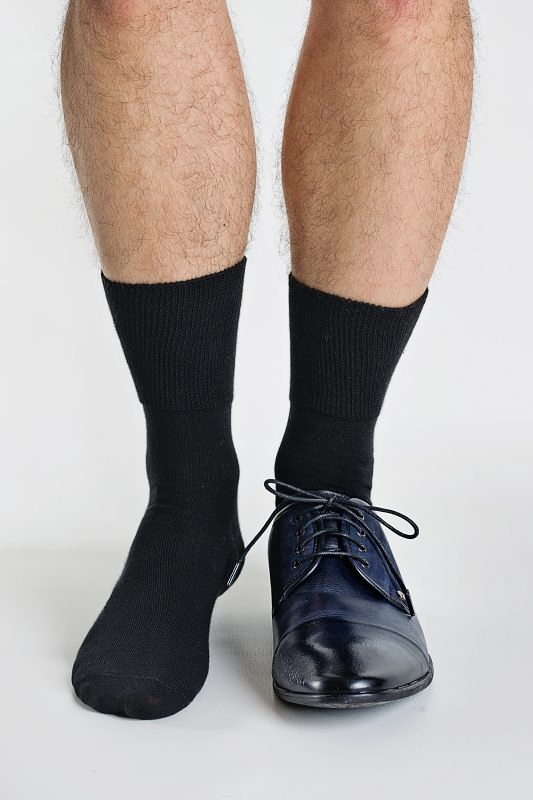 Pánské ponožky Regina Socks Frote Bambus - 39-42 - černá