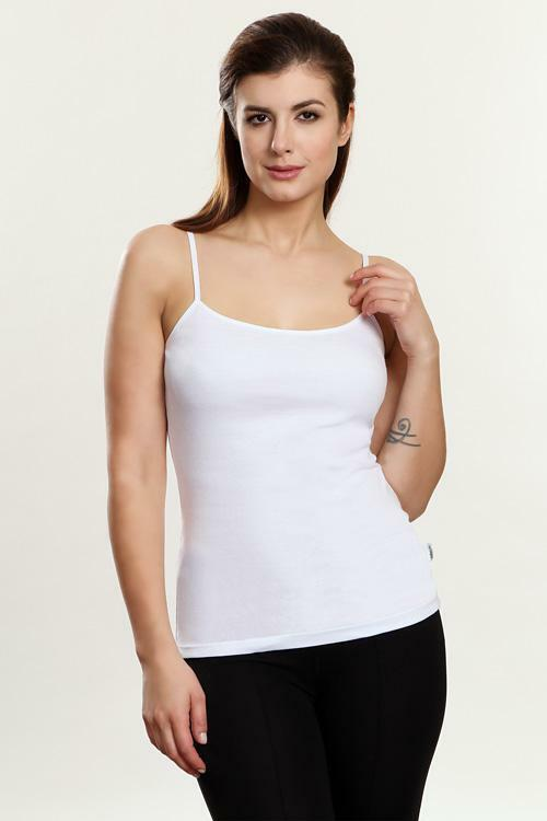 Spodní košilka Violana Sonia white - ramínka - M - bílá