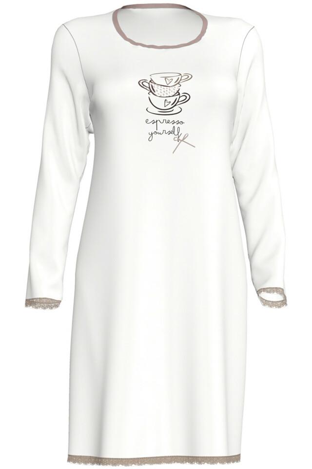 Dámská noční košile Constance 00-17-2901-115 - Vamp - M - krémová