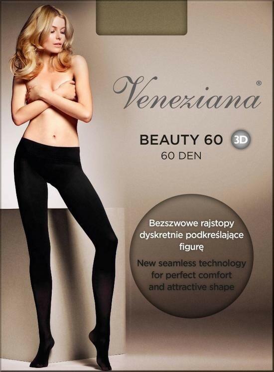 Punčocháče Beauty 3D 60 den - Veneziana