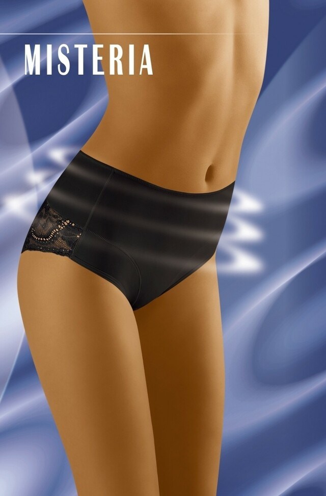 Stahovací kalhotky Misteria black - XL - černá