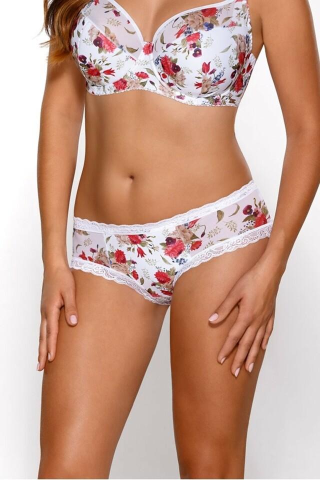 Dámské kalhotky 1525 - XL - bílá