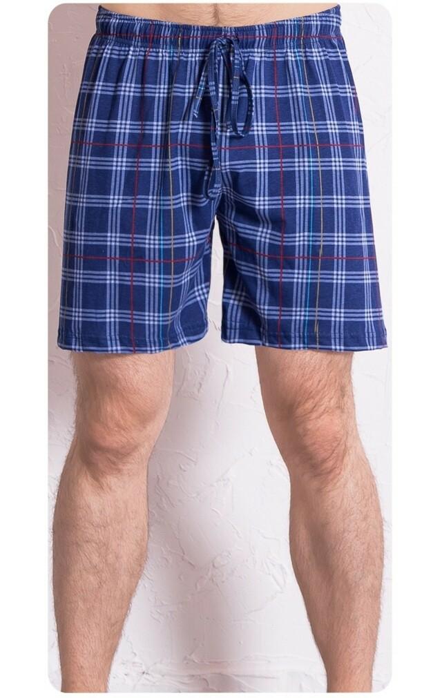 Pánské pyžamové šortky Kostka Gazzaz - L - tmavě modrá