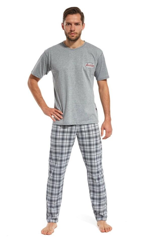 Pánské pyžamo 134/96 Mountain 3 grey
