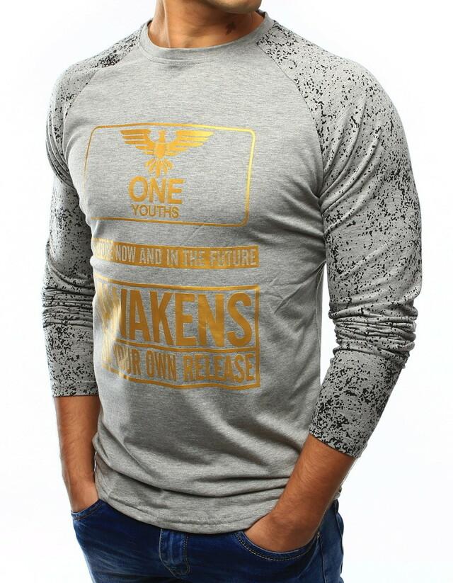 Pánské triko s potiskem SX013 (lx0413) - J.Style